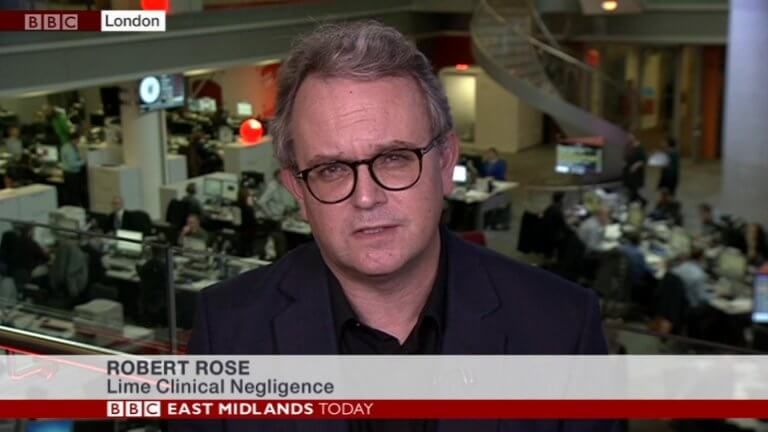 Robert Rose interviewed by BBC East Midlands Today