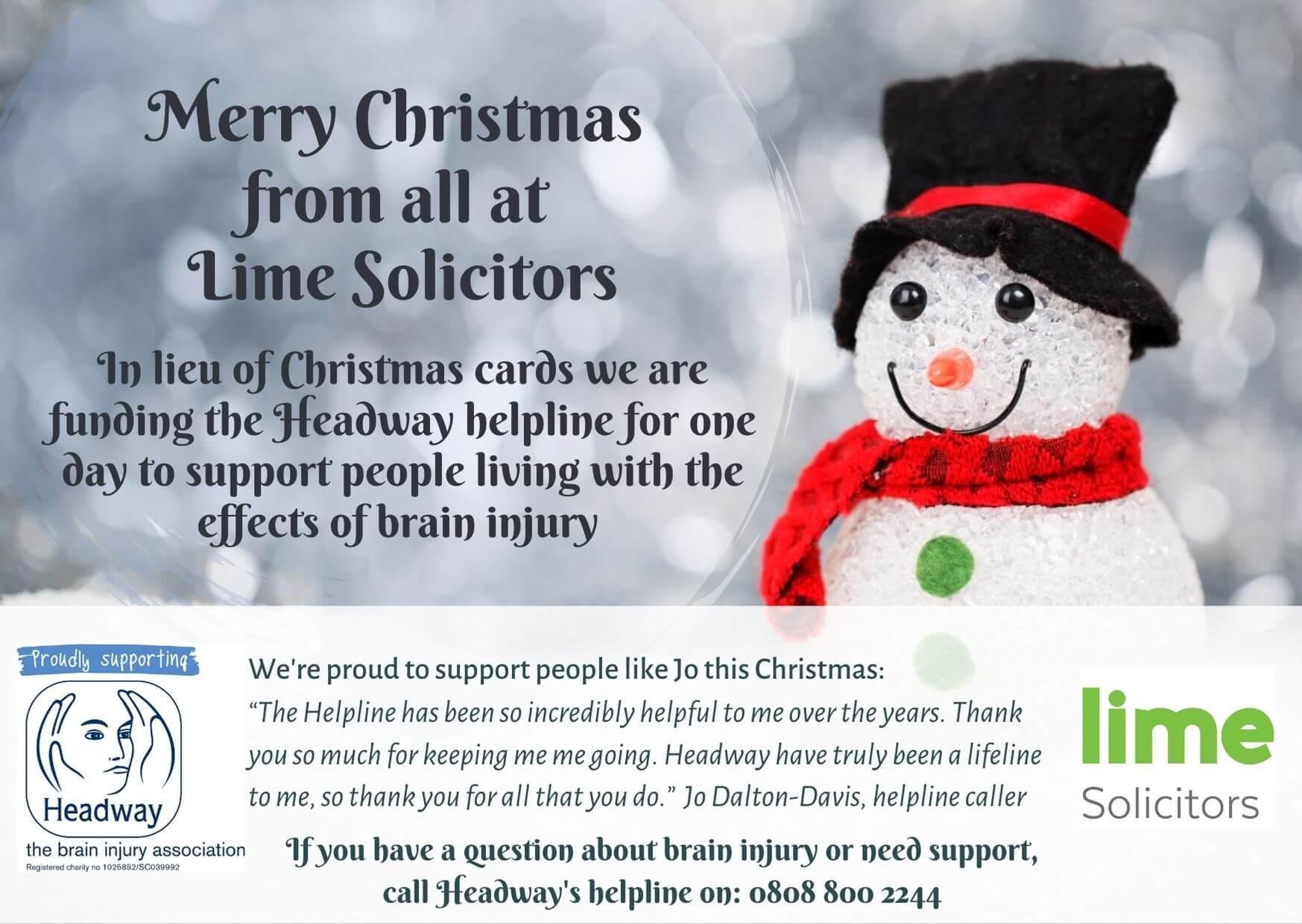 Merry Christmas from Lime Solicitors