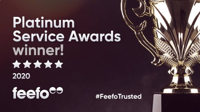 Lime Win Feefo Platinum Trusted Service Award